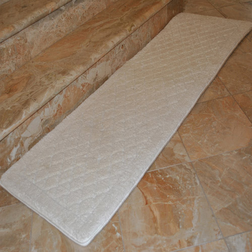 Fashion Street ExtraLong Memory Foam Bath Rug 18 x 54  Walmartcom