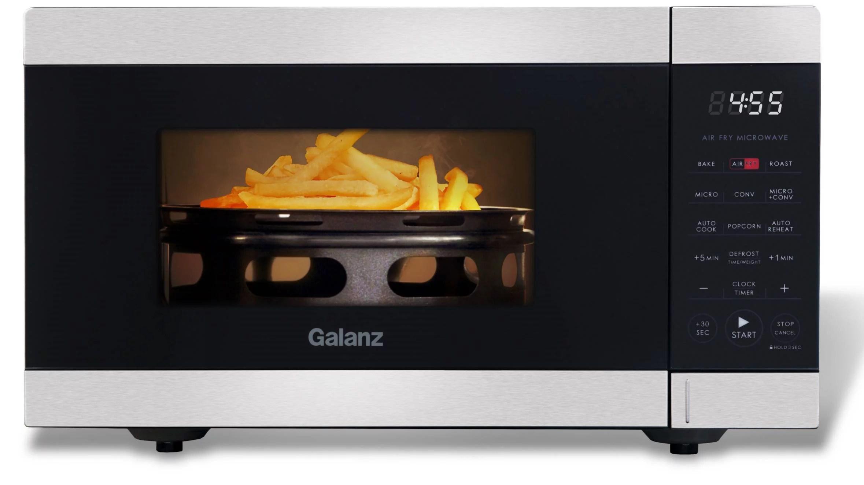 galanz 0 9 cu ft air fry microwave 900 watts walmart com