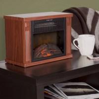 "Northwest 13"" Portable Mini Electric Fireplace Heater ..."