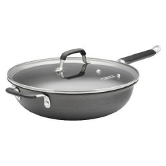 Calphalon Kitchen Essentials Dutch Oven Table With Bench Seating And Chairs 12 Nonstick Jumbo Frying Pan Walmart Com