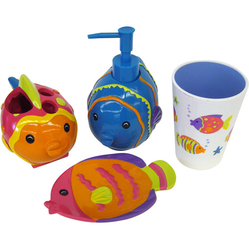 Fish Playground 4pc Acces  Walmartcom