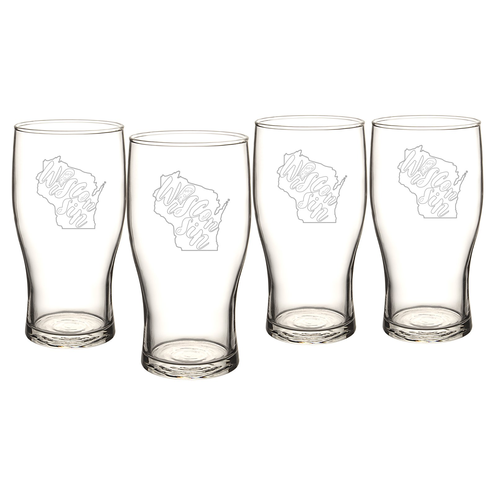 Cathys Concepts My State Beer Pilsner Glasses