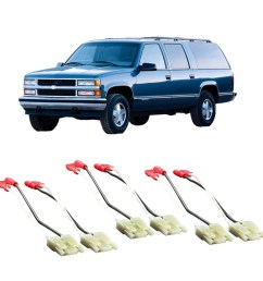 chevy suburban 1988 1994 factory speaker replacement connector harness package walmart com [ 1000 x 1000 Pixel ]