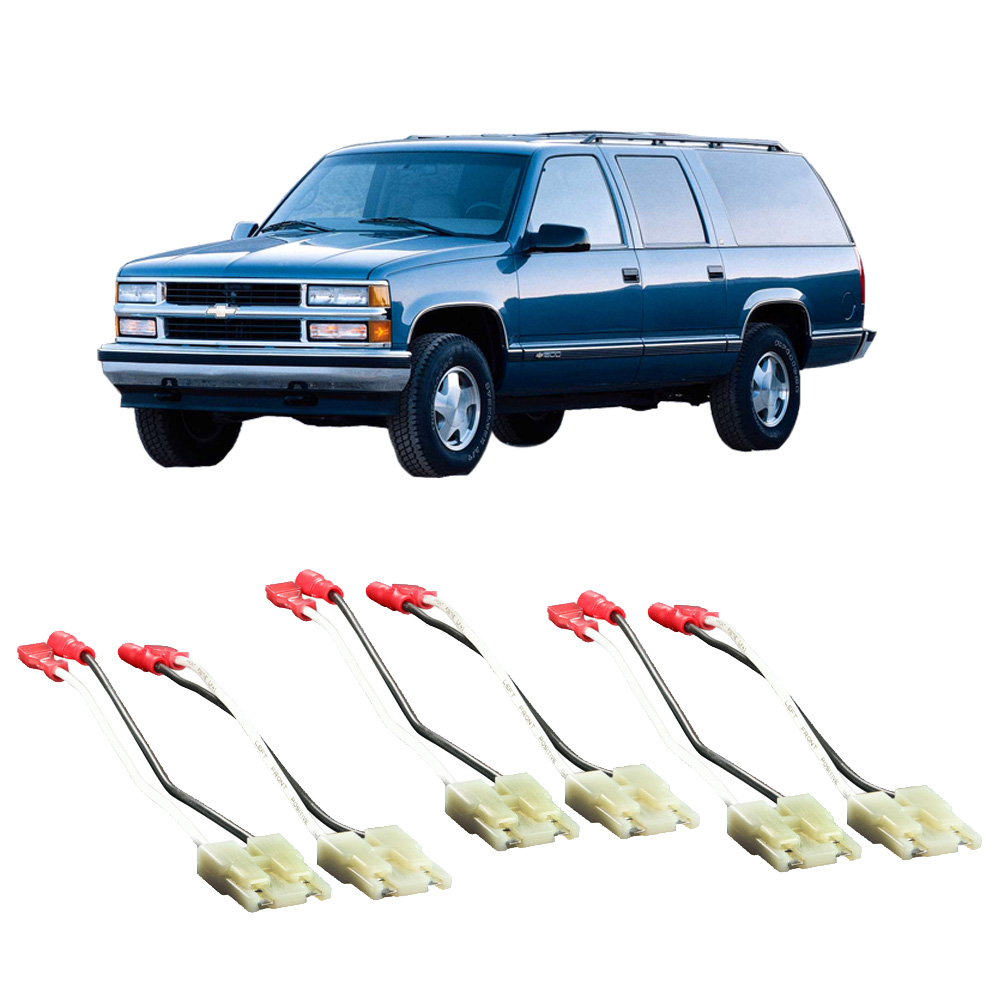 medium resolution of chevy suburban 1988 1994 factory speaker replacement connector harness package walmart com