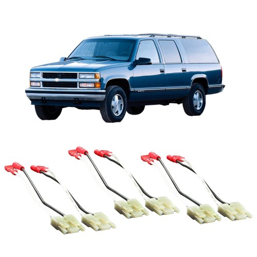 small resolution of chevy suburban 1988 1994 factory speaker replacement connector harness package walmart com