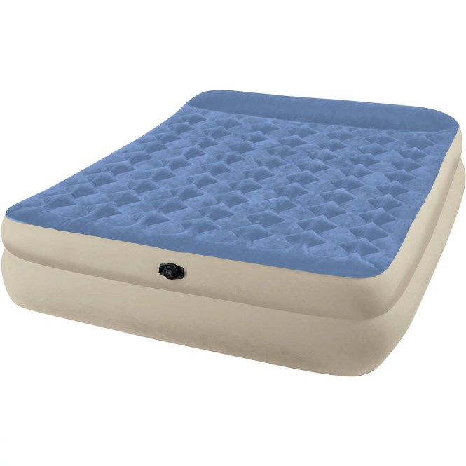 Intex Queen 18 Raised Pillow Rest Airbed Mattress
