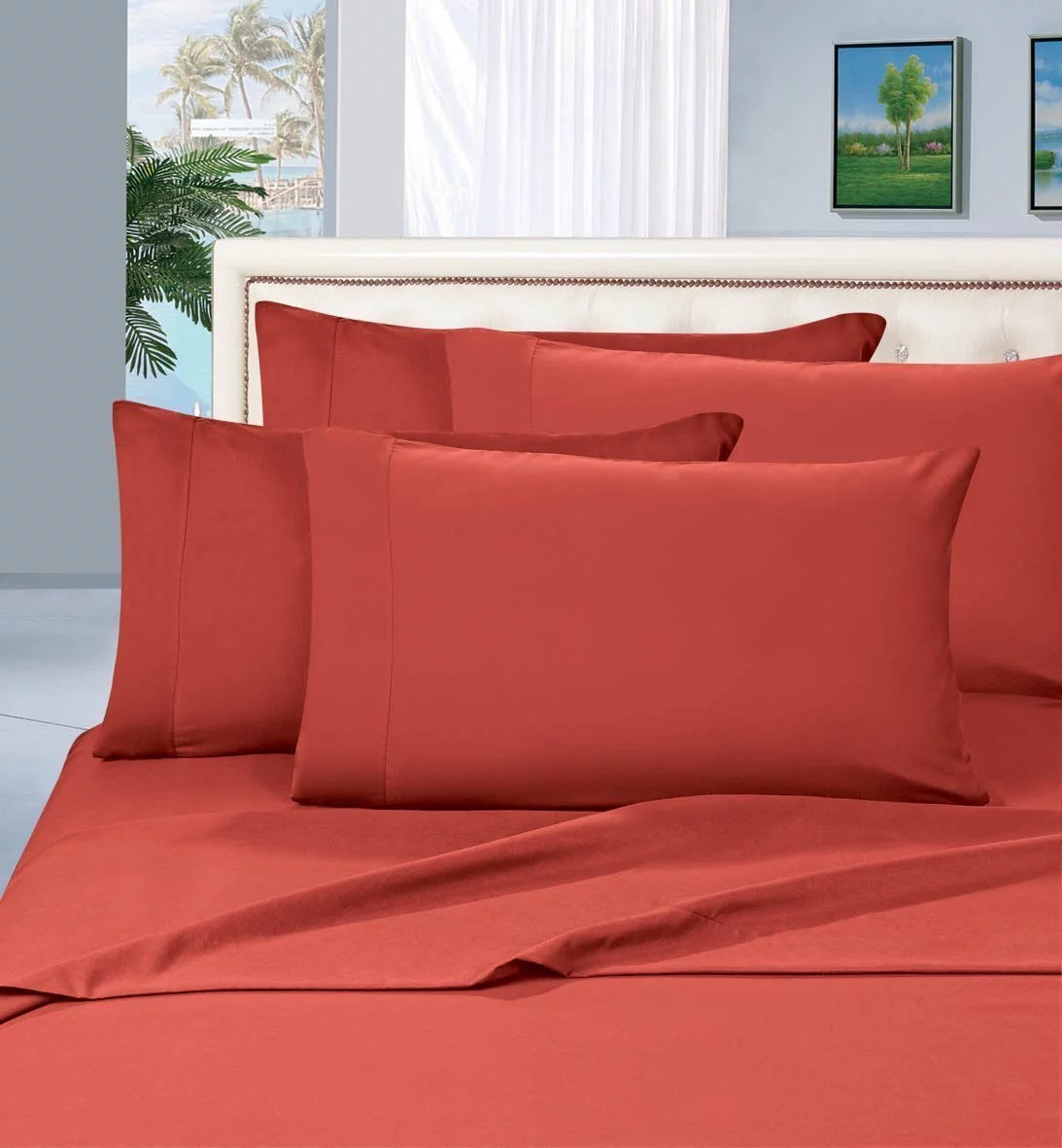 limited time 2pcs pillow cases all sizes and colors queen rust