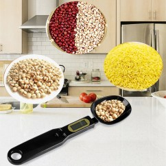 Kitchen Measuring Tools Stainless Cabinets 500g 0 1g Creative Convenient Tool Electronic Spoon Weight Scale Gram