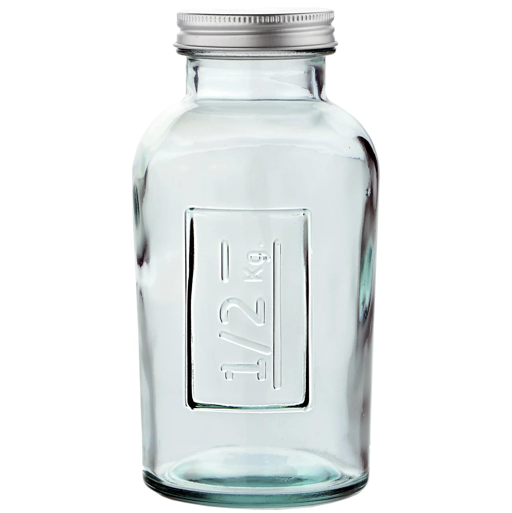 Couronne Co. Euro Glass Jar with Screw Cap - Walmart.com - Walmart.com