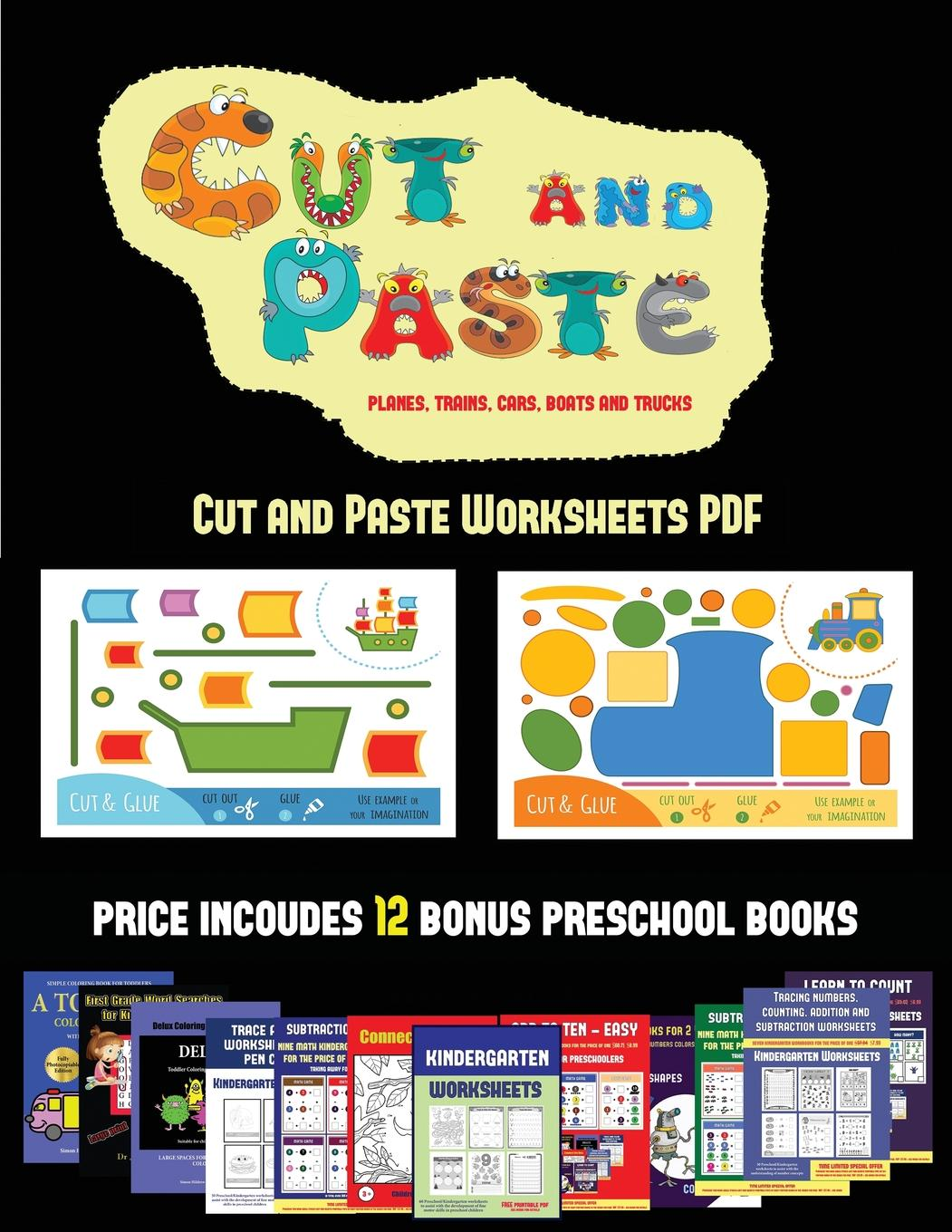 Cut And Paste Worksheets Cut And Paste Worksheets