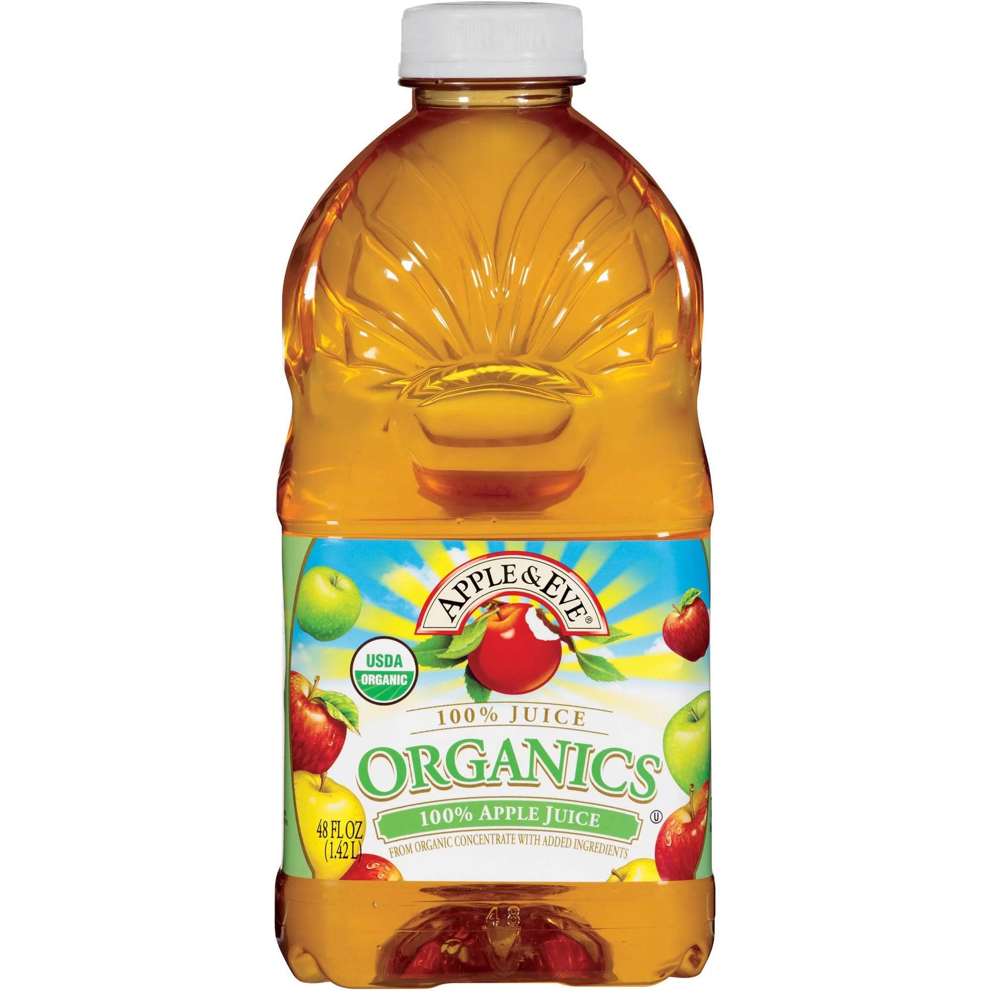 Apple Eve Organics 100 Apple Juice 48 fl oz Pack of