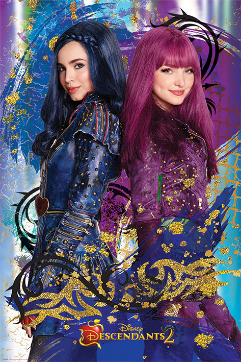 Disney S Descendants 2 Tv Movie Poster Print Mal