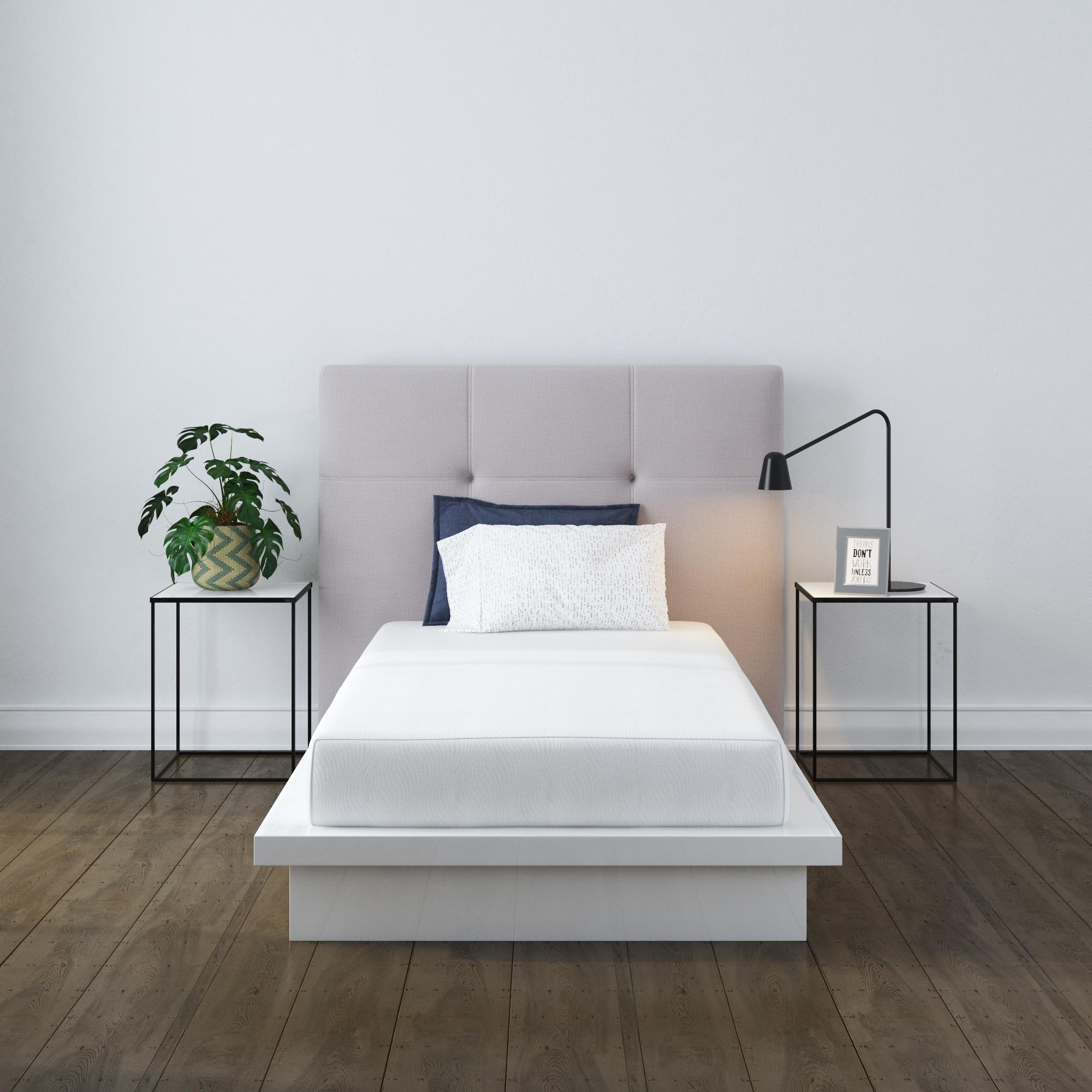 mainstays 8 memory foam mattress twin