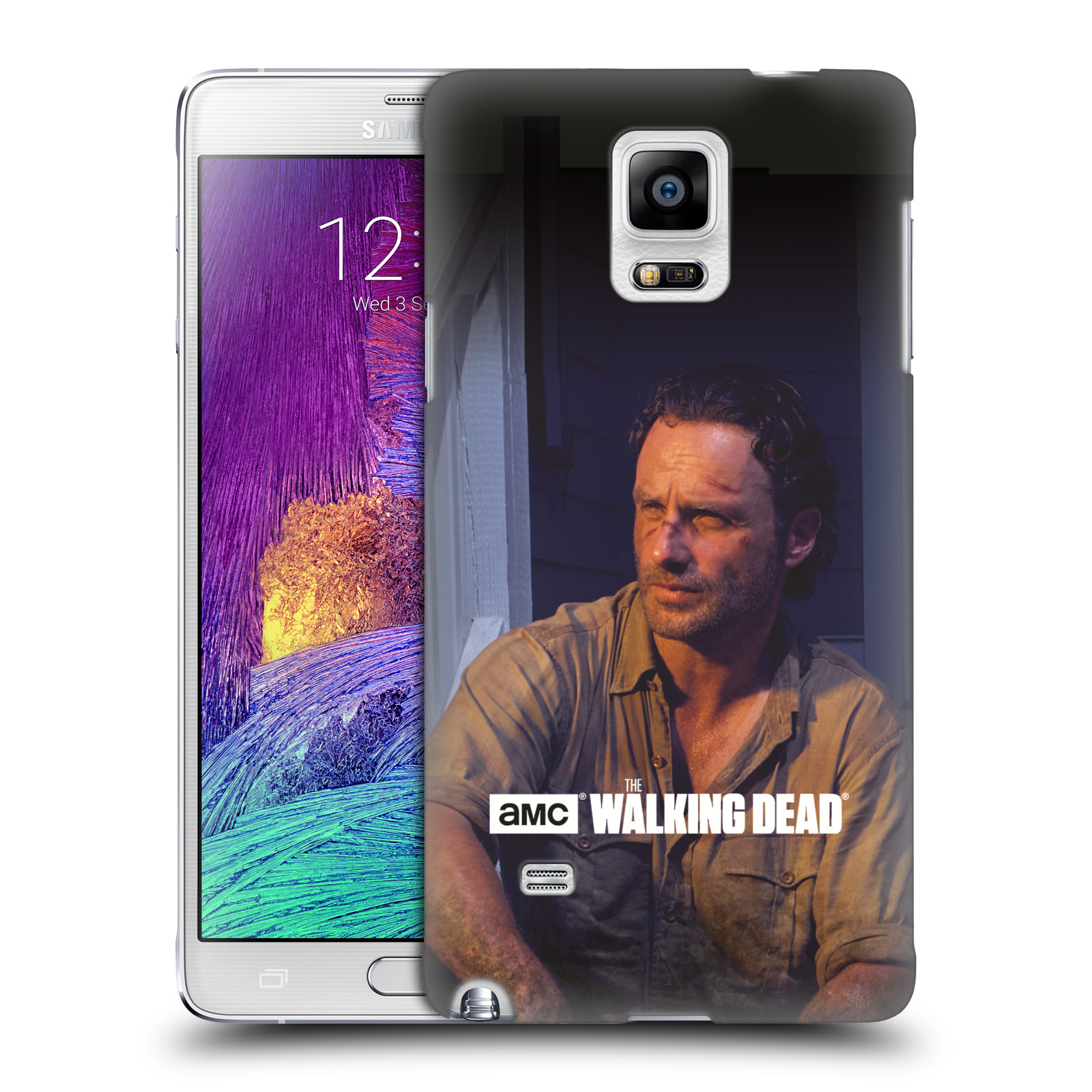 hight resolution of official amc the walking dead filter character hard back case for samsung phones 2