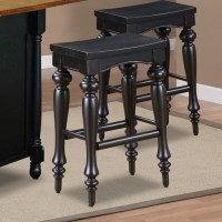 Powell Pennfield Kitchen Island Counter Stool, Set of 2 ...