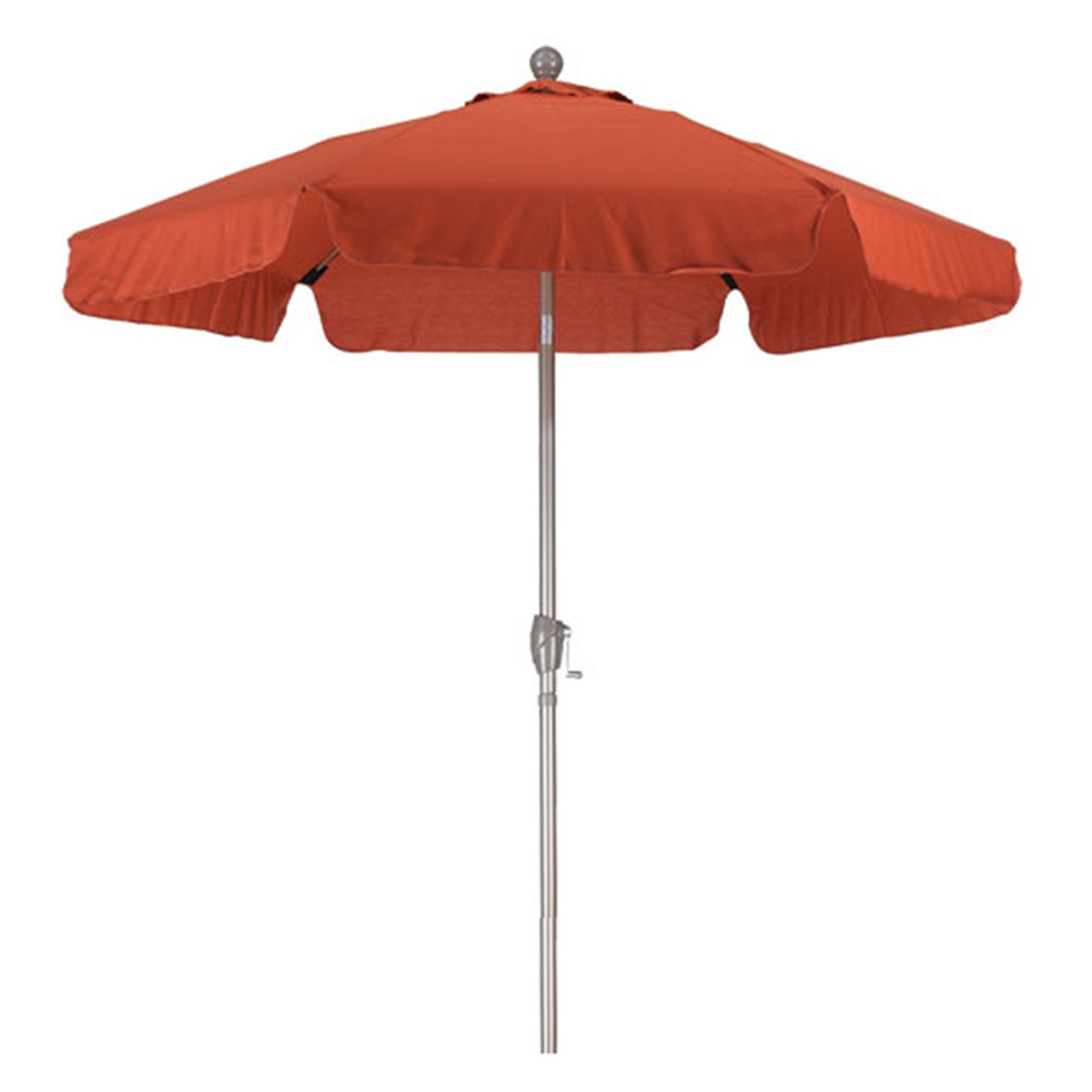 phat tommy 7 5 ft aluminum commercial grade cafe patio umbrella