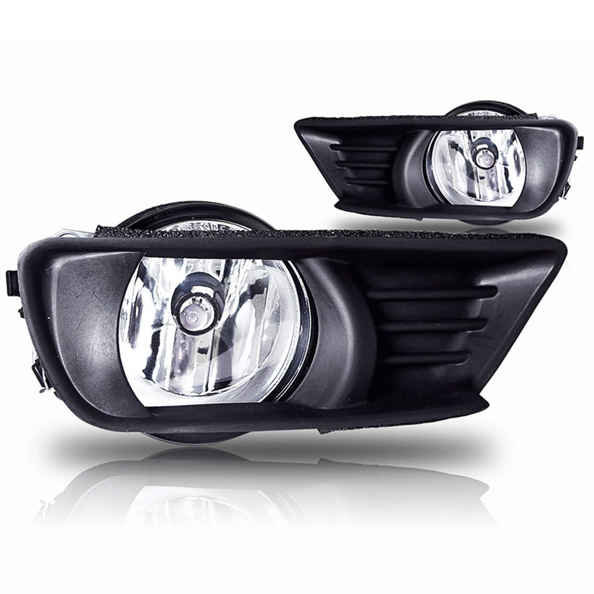 hight resolution of 07 09 toyota camry oem fog light clear wiring kit included dot sae approved made by oem approved manufacturer that meets or exceeds oe