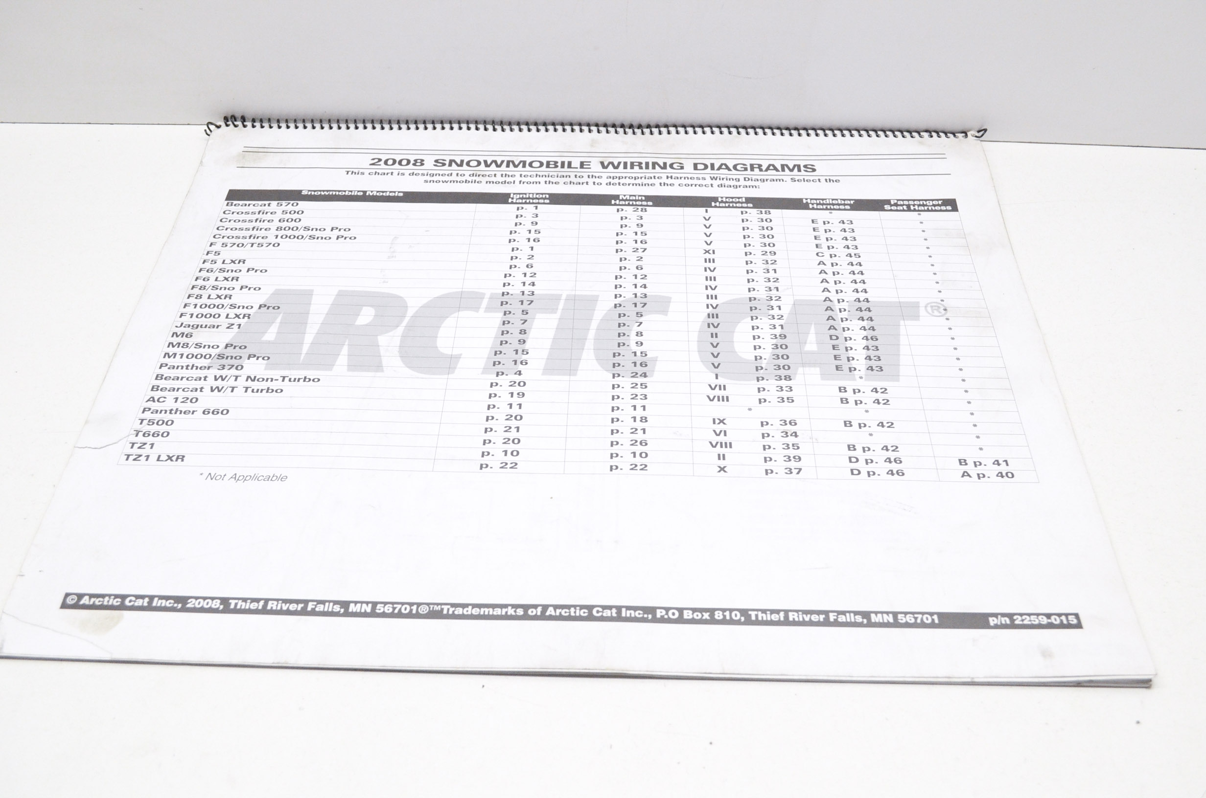 arctic cat 2259 015 2008 snowmobile wiring diagrams qty 1 walmart comarctic cat snowmobile wiring diagrams [ 2464 x 1632 Pixel ]