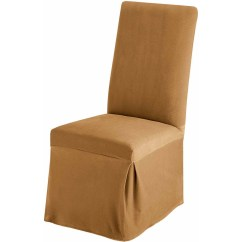 Parson Chair Covers Walmart Jordan Side Sure Fit Stretch Pinstripe Recliner Slipcover Chocolate
