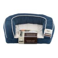 Stuft Blissful Rest Dog Bed, Small, Blue - Walmart.com