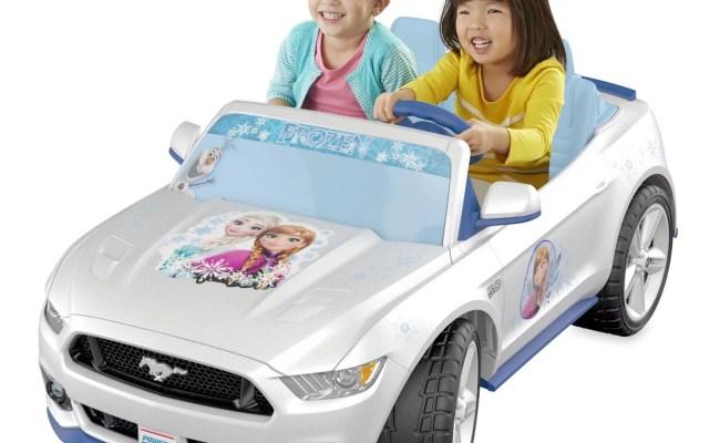 Power Wheels Smart Drive Disney Frozen Ford Mustang