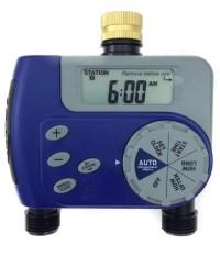Orbit 1-Dial 2-Port Hose Faucet Water Timer, Automatic ...