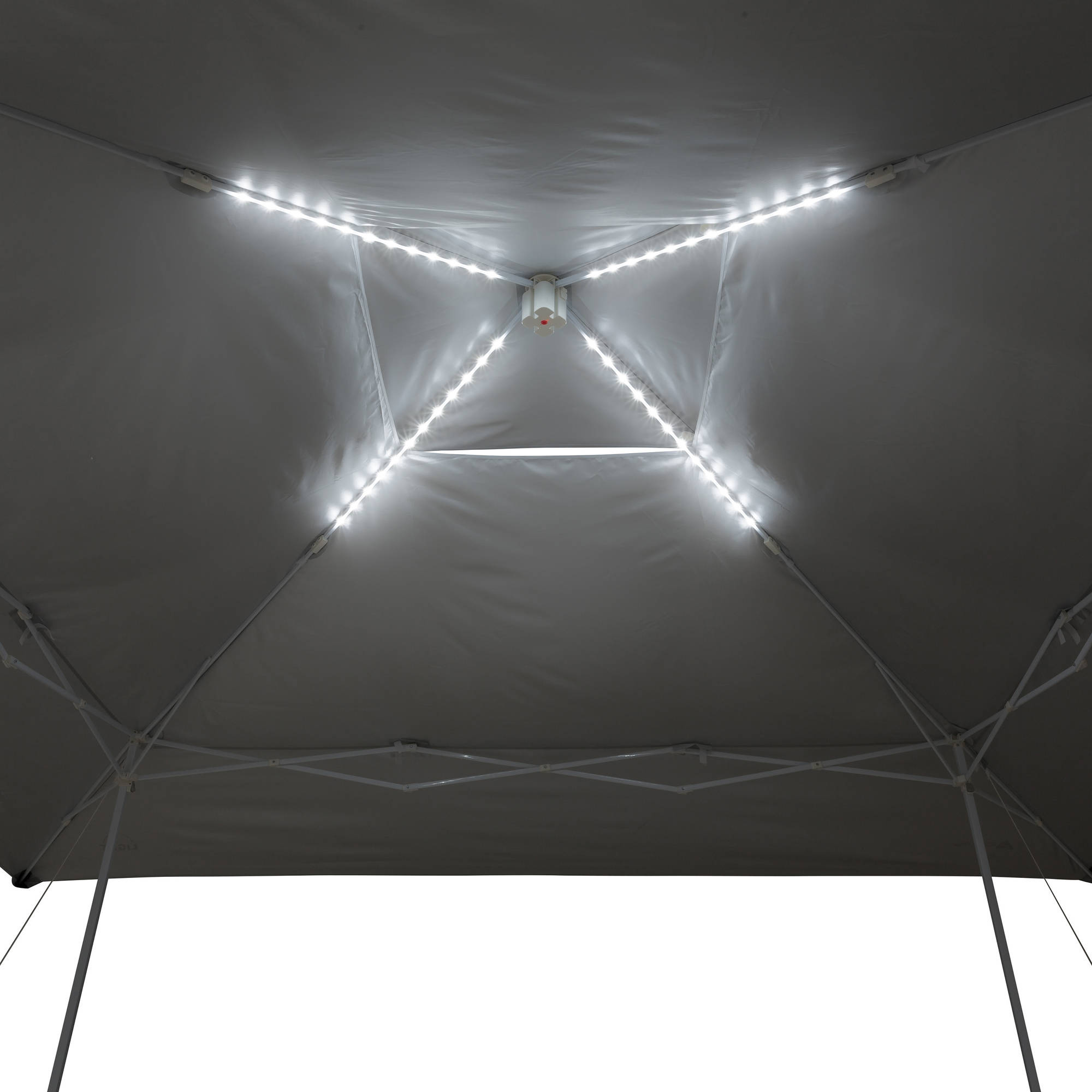 ozark trail 14 x 14 instant canopy with led lighting system
