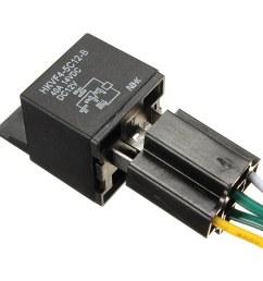 car auto dc 12v volt 30 40a automotive 4 pin 4 control wire relay socket 30amp 40amp walmart com [ 1200 x 1200 Pixel ]