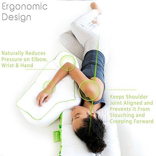 sleep yoga bp sy02 side sleeper arm