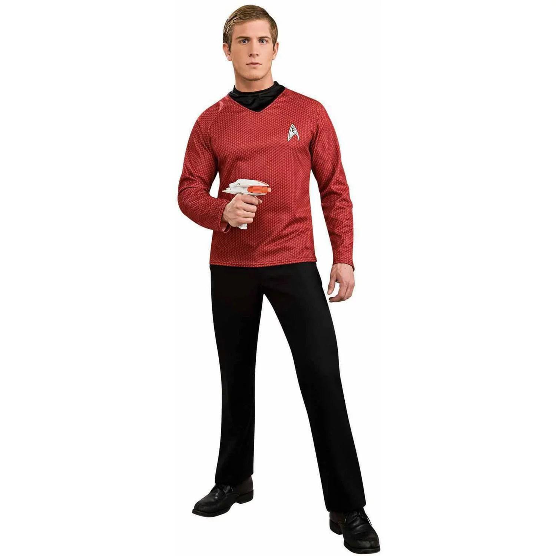 Star Trek Movie (2009) Red Shirt Men's Adult Halloween