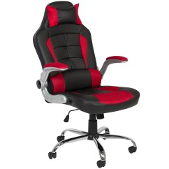 Racing Desk Chair Swivel Amazon Best Choice Products Executive Padded Pu Leather Style Design Office For Gaming Work W High Back Seat Armrests Tilt Height