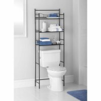 Mainstays 3-Shelf Bathroom Space Saver, Oil Rubbed Bronze ...