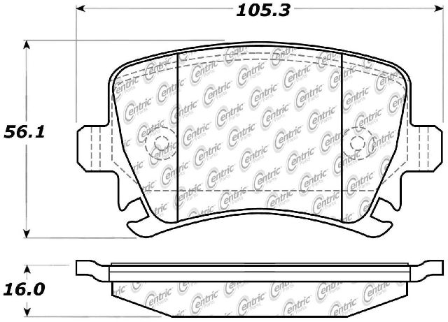Go-Parts OE Replacement for 2006-2013 Audi A3 Quattro Rear