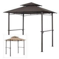 Garden Winds Replacement Canopy Top for Pacific Casual BBQ ...