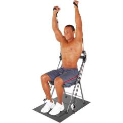 Chair Gym Exercise System With Twister Seat Havertys Dining Chairs W Walmart Com