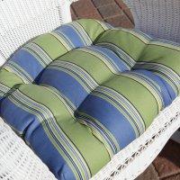 Sahara 17 x 19 in. Outdoor Wicker Chair Cushion - Walmart.com