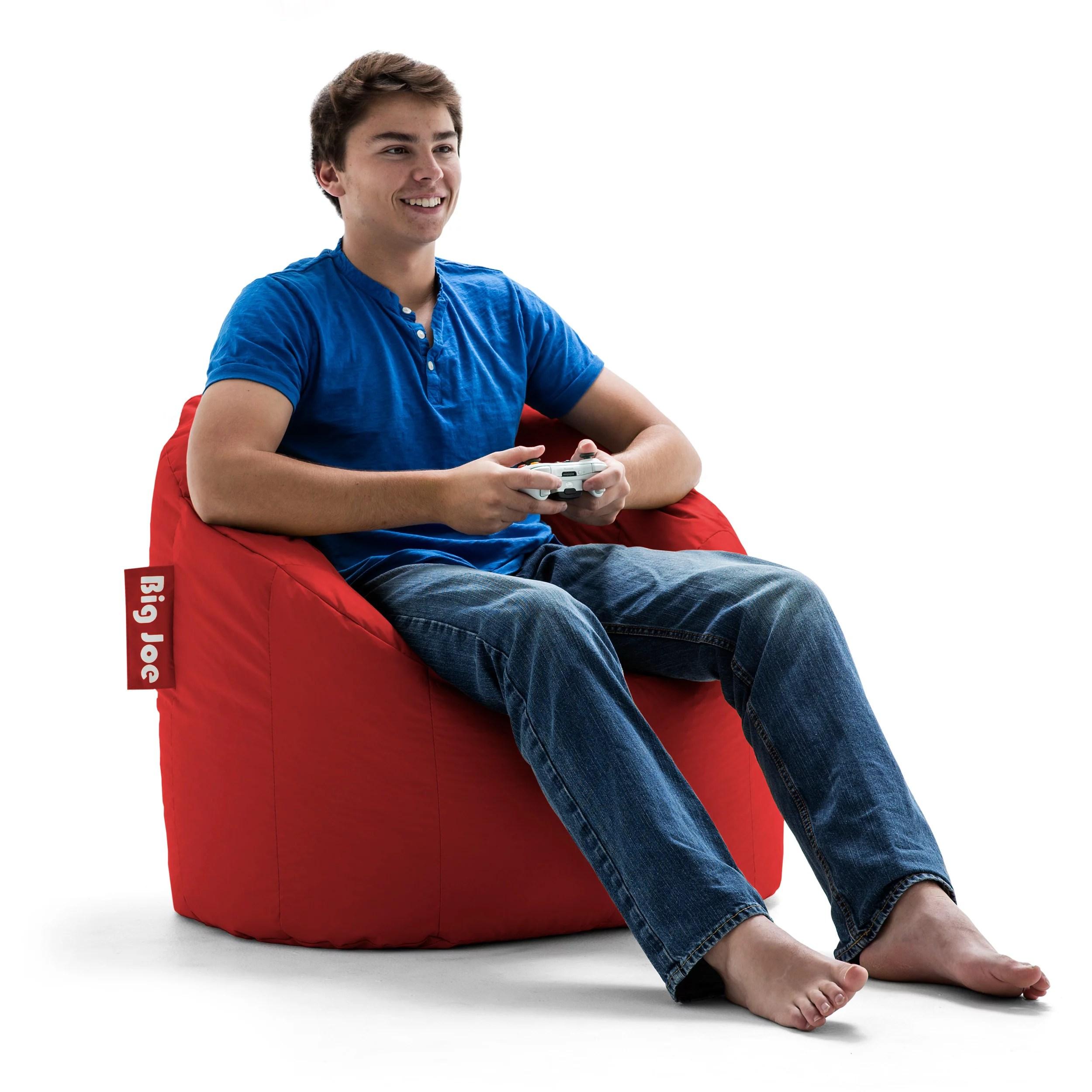 Big Joe Milano Bean Bag Chair Multiple Colors  32 x 28