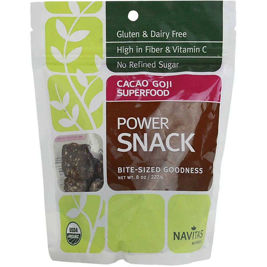 Navitas Naturals Cacao Goji Superfood Power Snack 8 oz
