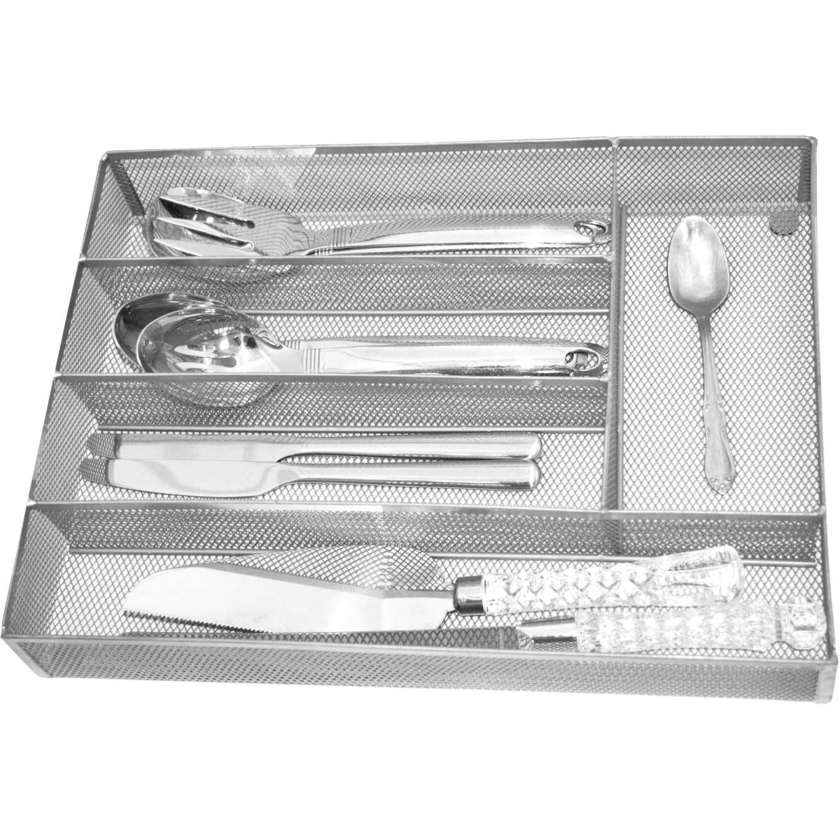 Kitchen drawer organizers