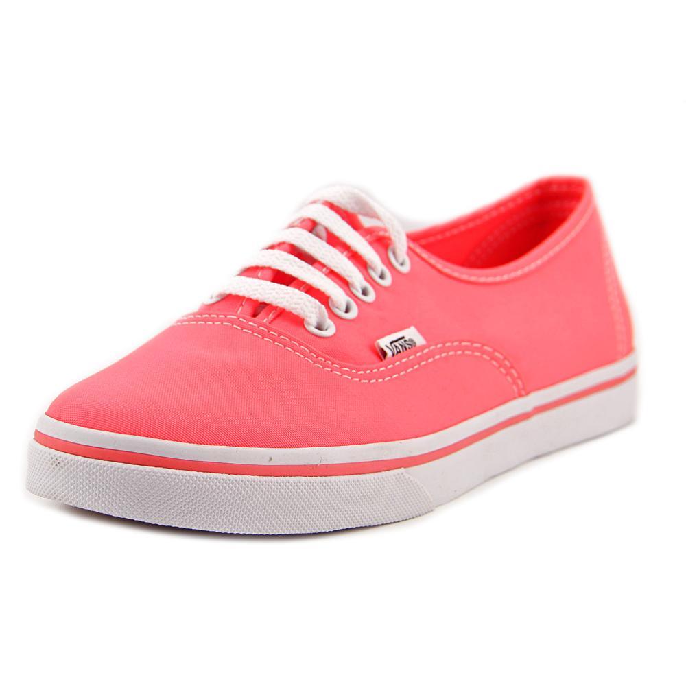 Vans authentic lo pro women us pink skate shoe uk eu walmart also rh