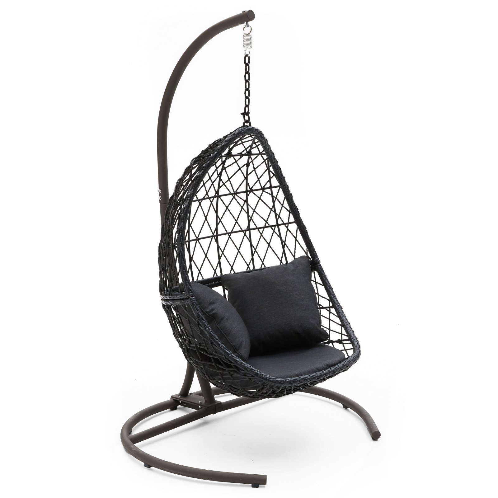 Egg Wicker Chairs Outdoor Belham Living Capeside Outdoor Wicker Hanging Egg Chair