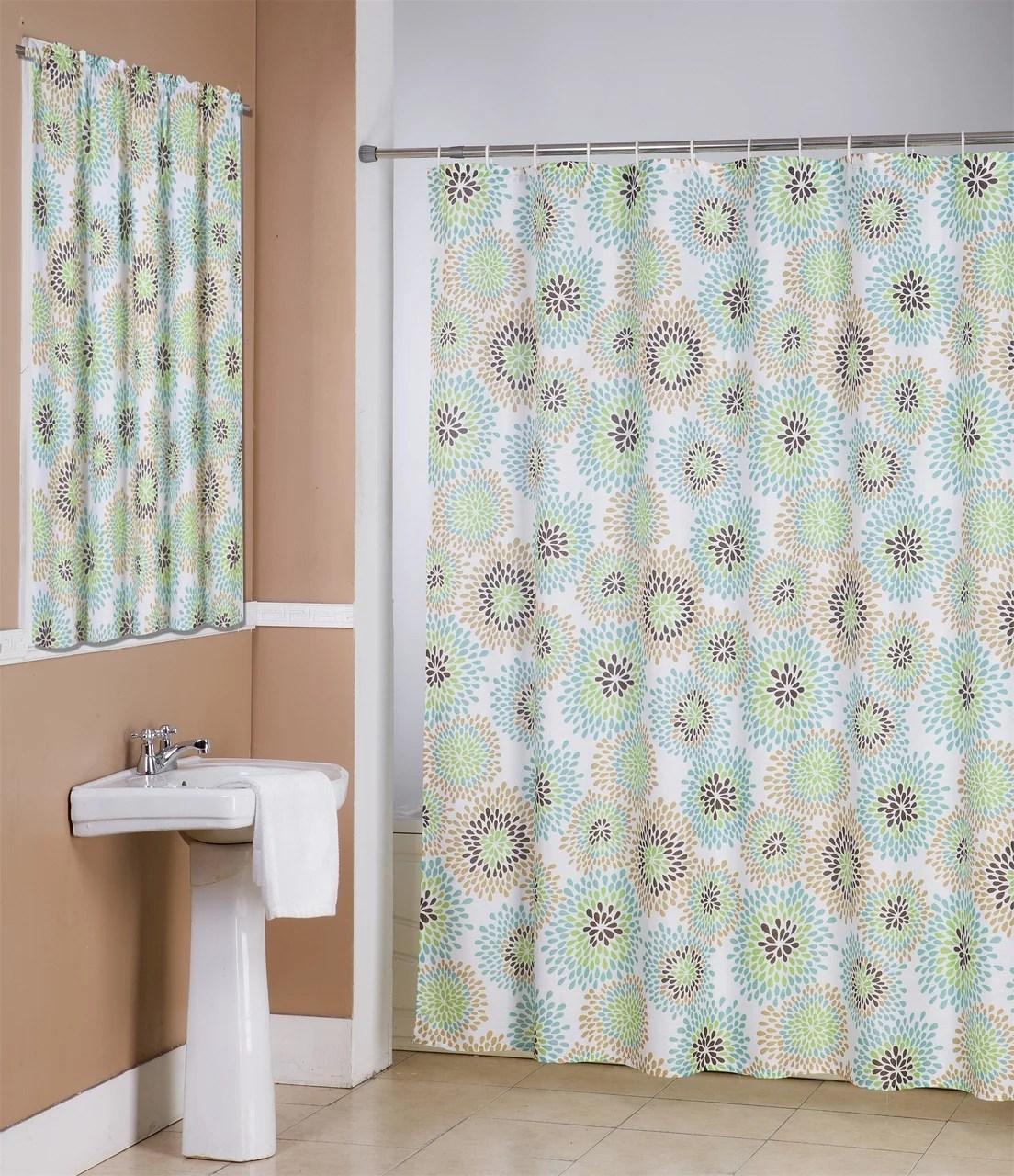 robin 14 piece bathroom accessories set canvas shower curtain hooks bathroom window curtain