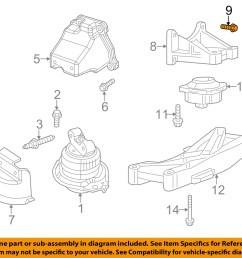 dodge chrysler oem engine motor transmission transmission support bolt 6102048aa walmart com [ 1500 x 1197 Pixel ]
