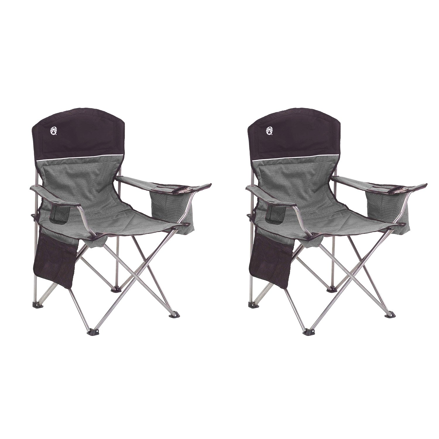 black patio chairs folding target outdoor coleman oversized camping lawn cooler 2 pack 2000020256 walmart com