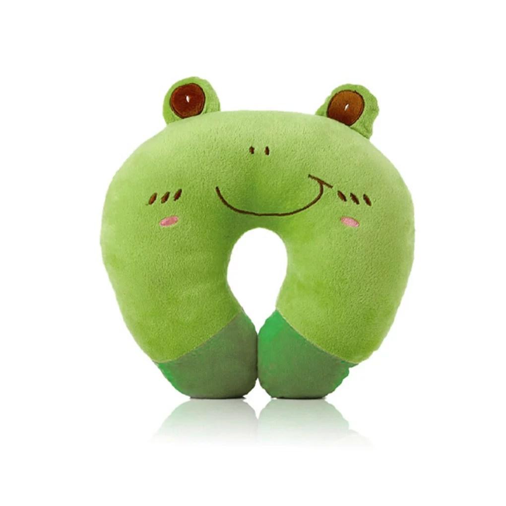 u shaped plush sleep neck pillow office cushion cute lovely travel pillow gift