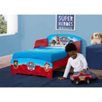 Paw Patrol Wooden Toddler Bed Kids Boys Furniture Bedroom