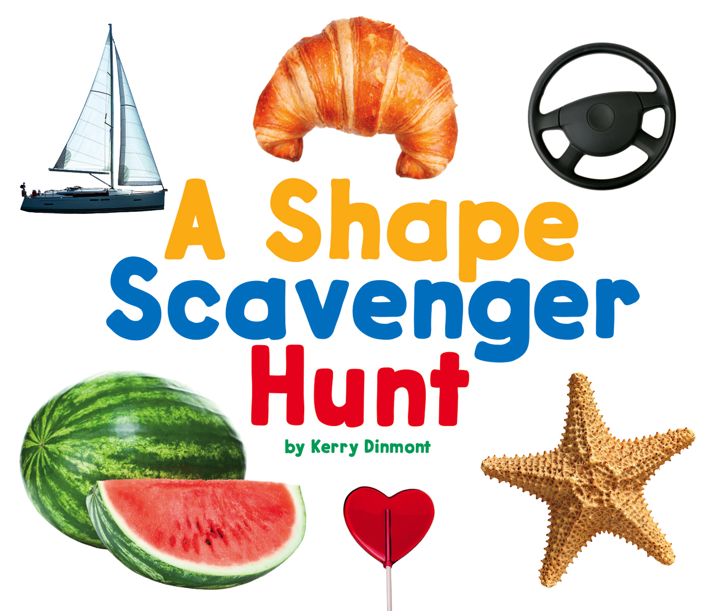 Scavenger Hunts A Shape Scavenger Hunt Hardcover
