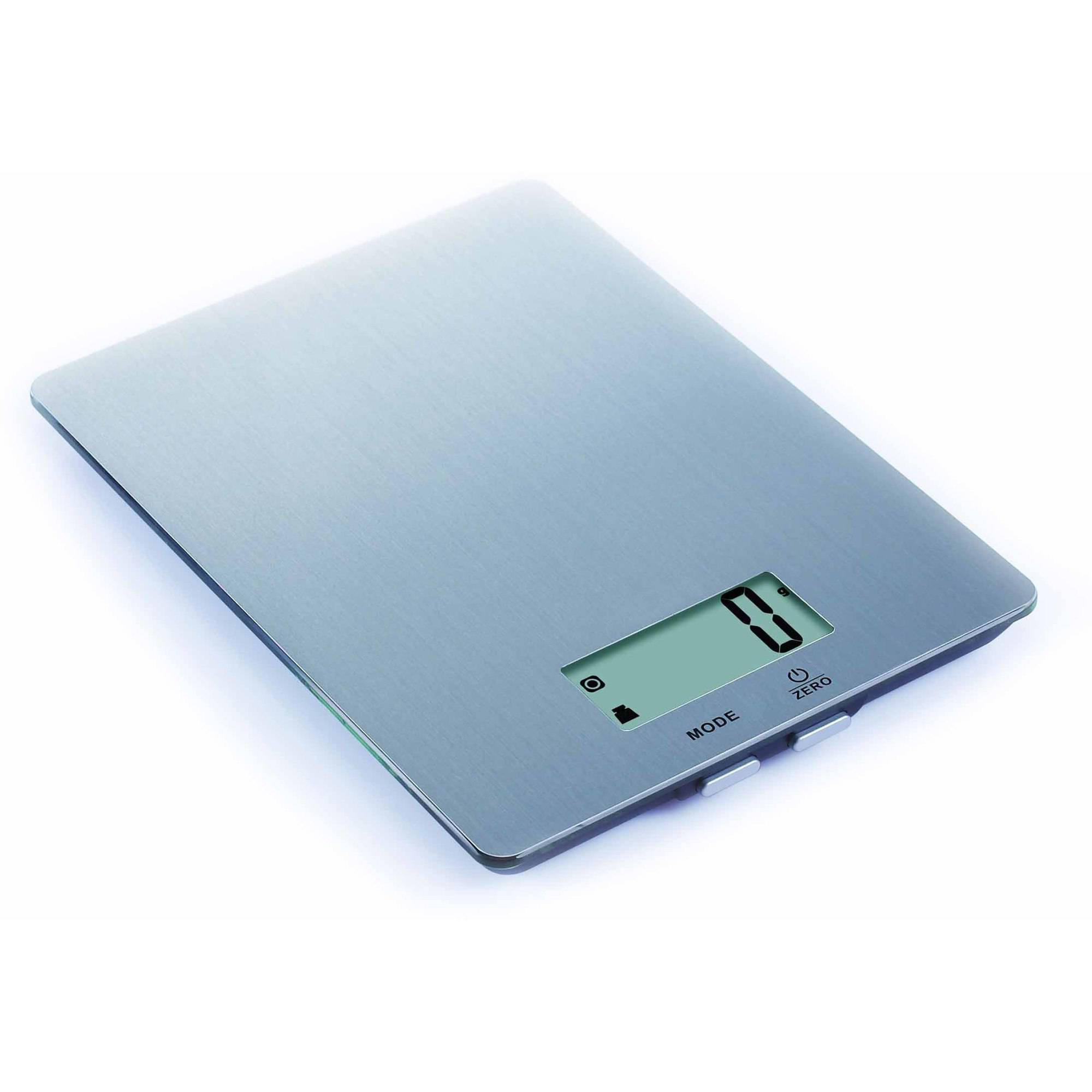 kitchen scales aid mixer parts mainstays stainless steel digital scale walmart com