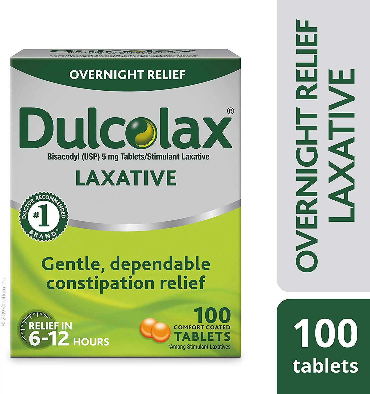 Dulcolax Laxative Tablets 100ct - Walmart.com - Walmart.com
