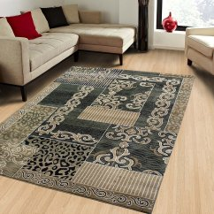 Living Room Rugs 8x10 Grey Walls Green Persian Floral Oriental Formal Traditional Area Rug Easy To Clean Stain Fade Resistant Shed